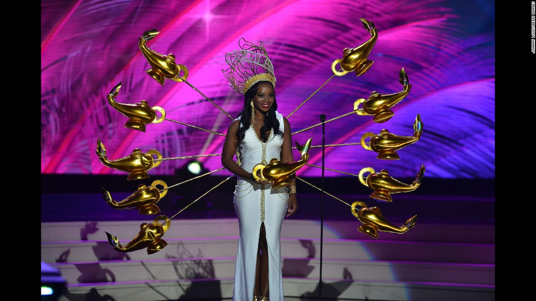 Miss British Virgin Islands Jaynene Jno Lewis