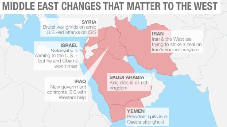 Whats Happening In The Middle East And Why It Matters CNN - Us and its allies map
