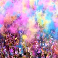 2. Coolest runs Color Me Rad