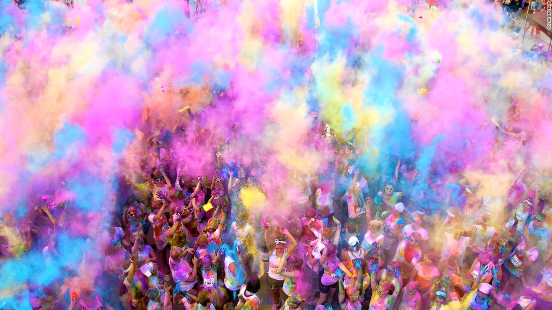 Another race that involves being doused in powder, Color Me Rad has become incredibly popular worldwide. The organization says more than two million runners have already taken part.