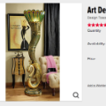 01 skymall peacock floor lamp 012315
