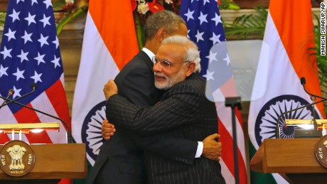 Obama and Modi: Best broments