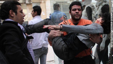 January 2015:Deadly violence on anniversary of Egypt revolution