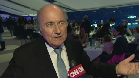 FIFA President: 'I have not finished my mission'