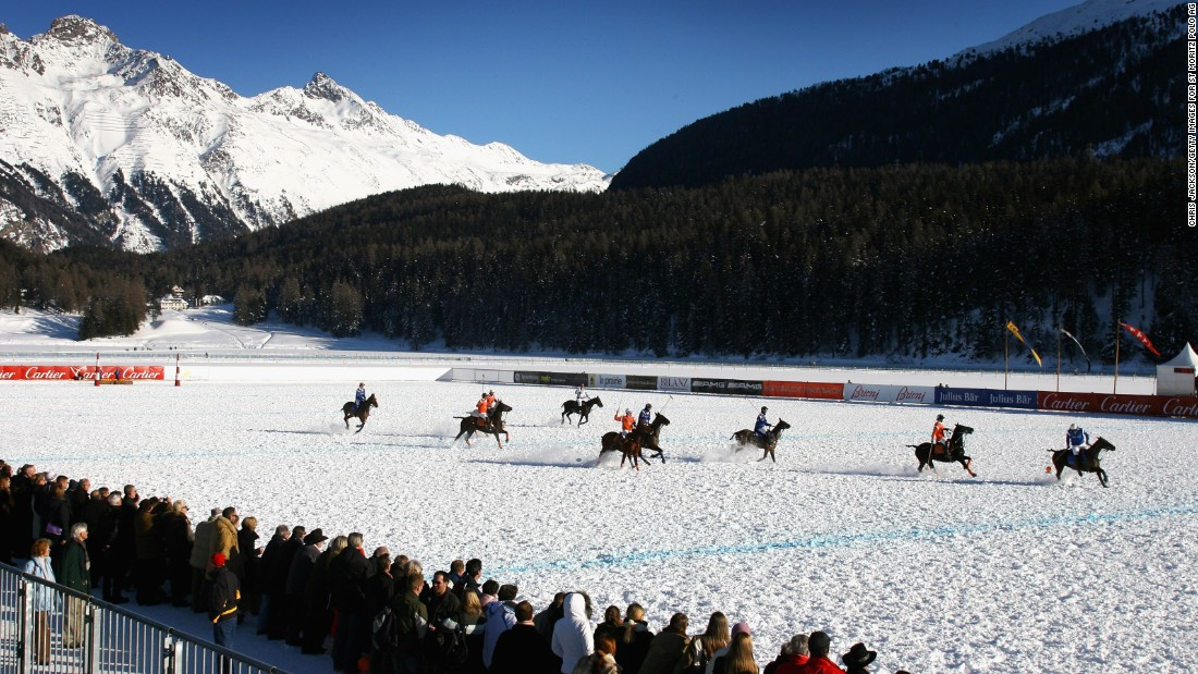 The first official snow polo match took place in  1985, in the Swiss town of St. Moritz. The resort at the foot of Piz Bernina, the tallest peak in the eastern Alps, has hosted its version of the Snow Polo World Cup every year since.<br />
