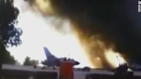 sot wolf spain nato greek fighter jet crash _00003611
