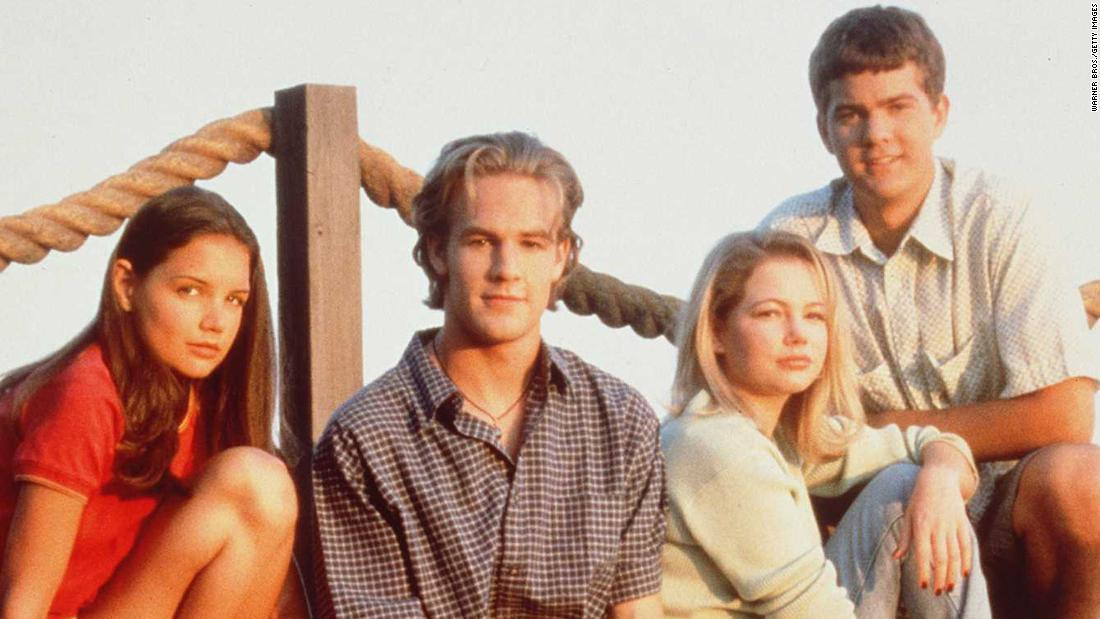 "In 1998, a quad of then-unknown teens stepped into roles that would come to define their lives. ""Dawson's Creek"" lasted for six seasons, but its popularity is still strong 10 years after the series finale. Need proof? Star James Van Der Beek's role on ""Don't Trust the B----"" <a href=""http://www.cnn.com/2013/01/24/showbiz/tv/james-van-der-beek-apartment-23/index.html?iref=allsearch"" target=""_blank"">revolved around the fact that he's ""Beek from the Creek.""</a>  Katie Holmes (far left), Michelle Williams (third from left); and Joshua Jackson (right) haven't done too badly for themselves, either."