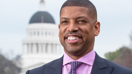 Kevin Johnson is the two-term mayor of Sacramento who leaves office later this year.