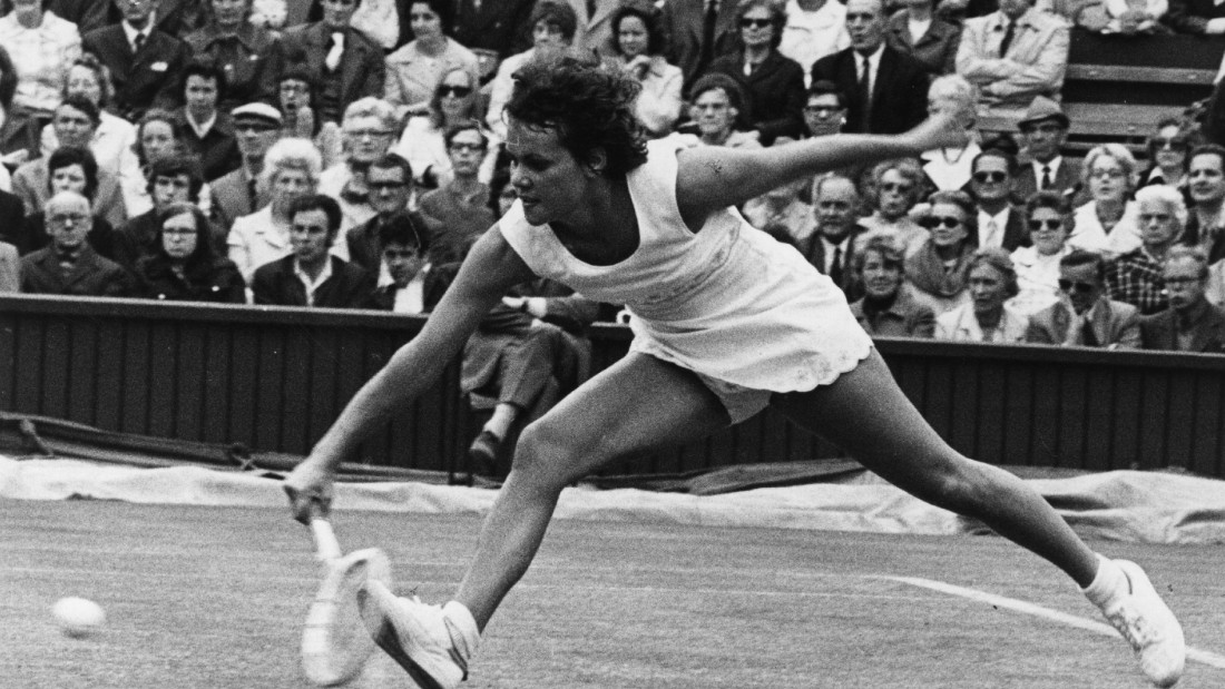 The Australian relished the grass surface in London, twice being crowned champion there, the second in 1980 after she had become a mother.