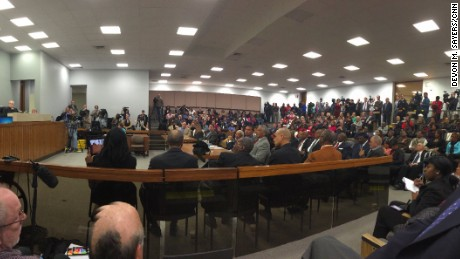 A packed house attended Wednesday's hearing in Rock Hill, South Carolina, to clear the names of the Friendship Nine.