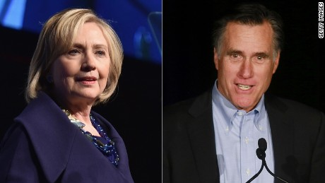 Hillary Clinton: December 2014; Mitt Romney, Jan. 2015