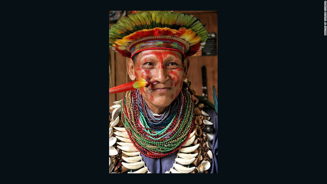 With the help of licensed tour companies, visitors can take part in shamanistic rituals in the Ecuadorian Amazon.