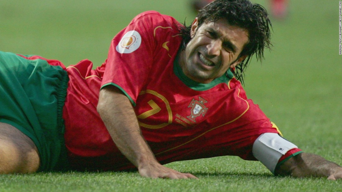 The 42-year-old is Portugal's most capped player with 127 appearances to his name. His career with the national team might best be remembered for the near miss he had in Euro 2004 as Portugal, who were hosts, lost to minnows Greece in the final.