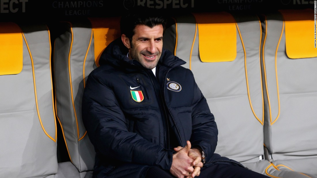 Figo's work for the Portugal national team, and with Inter Milan, qualifies him to run for the presidency, and he revealed to CNN he has backing from five FIFA member associations -- another prerequisite.