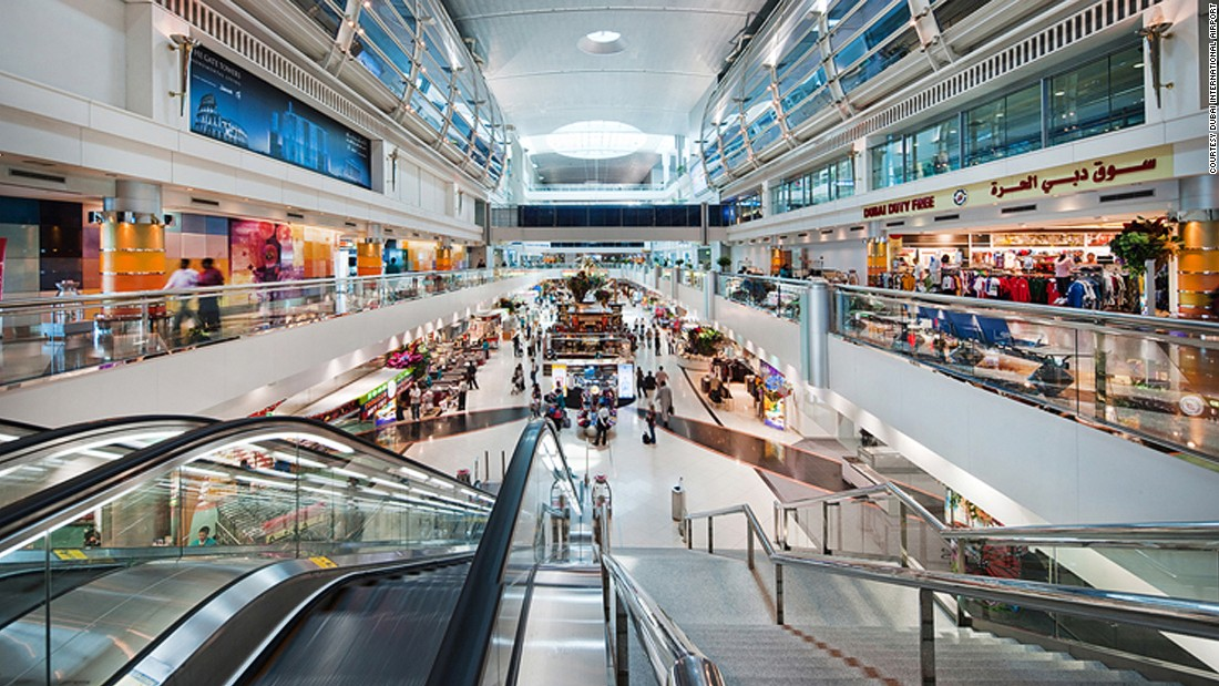 The sixth busiest airport in 2014, Dubai has moved up to third position. With more than 78 million passengers, traffic grew by 10.7% in 2015. It's also the world's busiest in terms of international passengers.