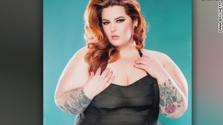 Plus-size model to critics: Get a hobby