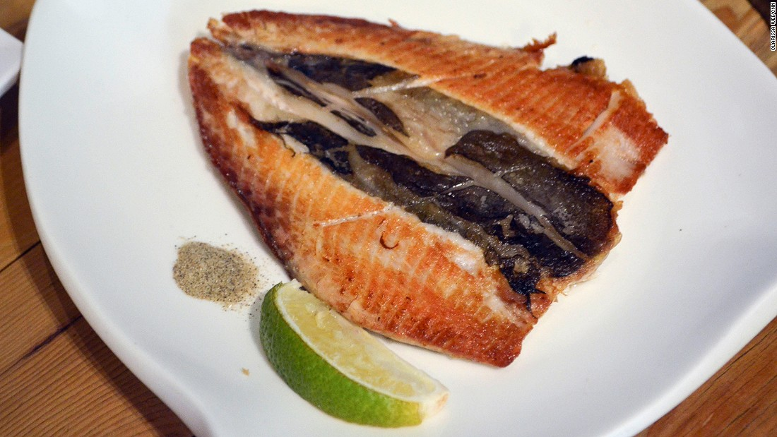 Not a fan of milkfish popsicles? It's just as good when pan fried with a squeeze of lime juice,