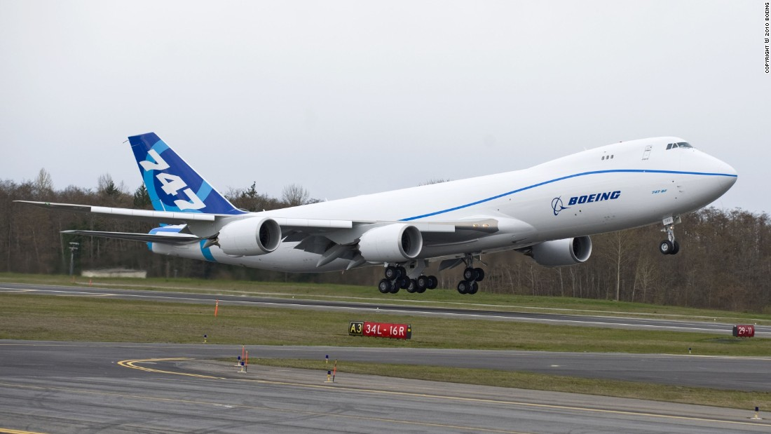 A customized military version of this Boeing 747-8 will serve future Presidents.