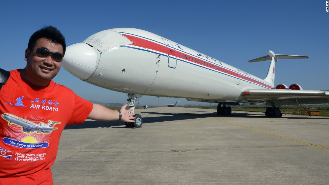 "Air Koryo provides decent service, said aviation enthusiast Sam Chui. ""They're just using some different equipment."" Chui said he has flown on 111 different types of planes, and logged about 2.4 million air miles."