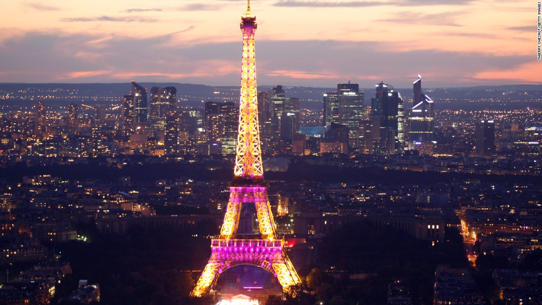 The City of Light held on to the No. 5 ranking, despite a 1.9% decline in visitor numbers to 14.98 million.