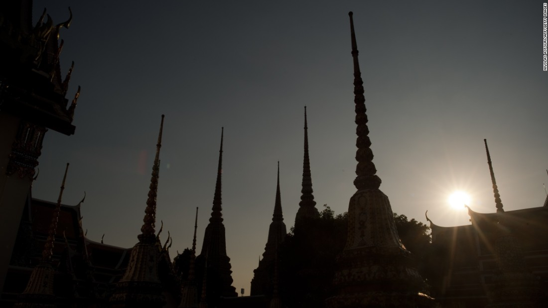 Bangkok climbed two spots to No. 18 on the 2015 global list of the world's best destinations.