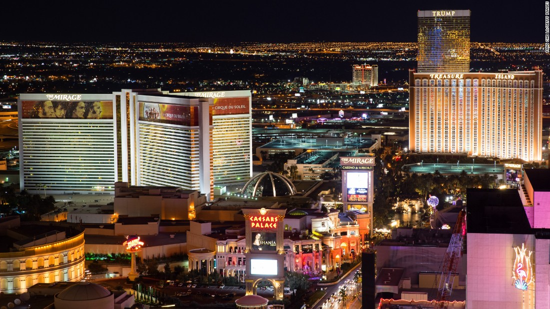 With 6 million international visitors, Sin City ranked No. 23.
