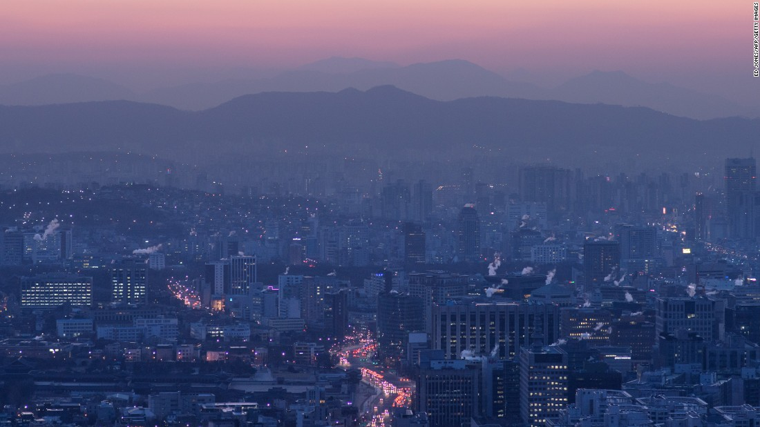 <strong>15. Seoul, South Korea: </strong>Seoul welcomed 8.8 million international visitors in 2015. This 6% drop in numbers was due in part to the spread of the MERS virus.