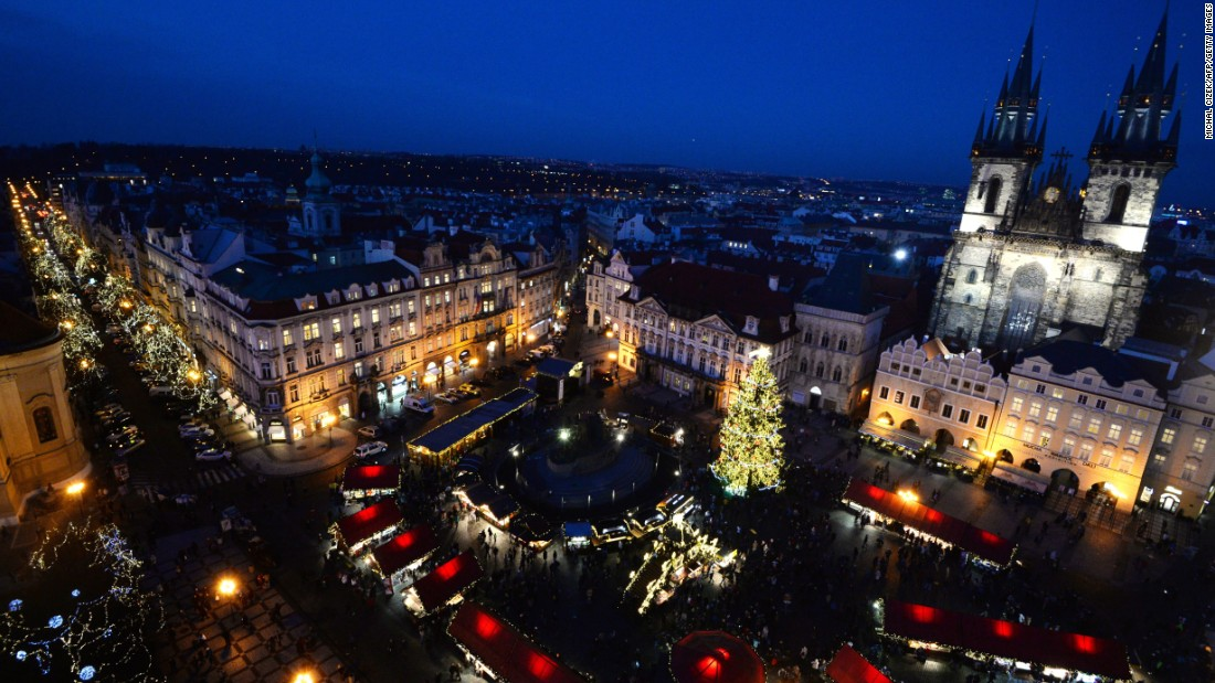 Home to the largest castle in the world, Prague welcomed 6.35 million international visitors.