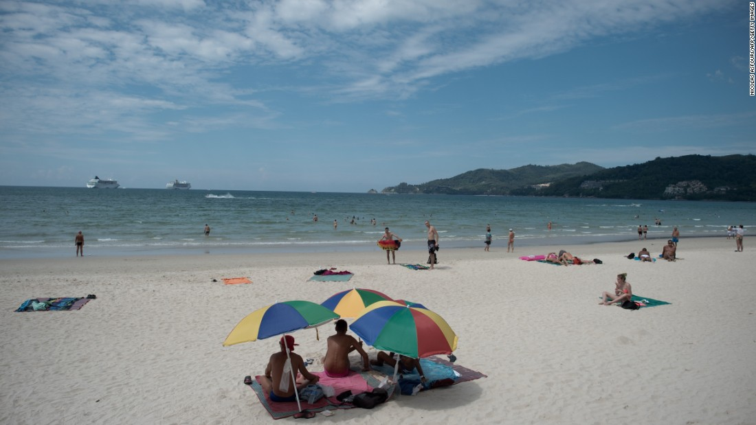 Unlike Pattaya, Thai coastal paradise Phuket managed to increase its visitor numbers -- up 1% to 8.1 million. That didn't stop it slipping two places on the previous year's ranking though.