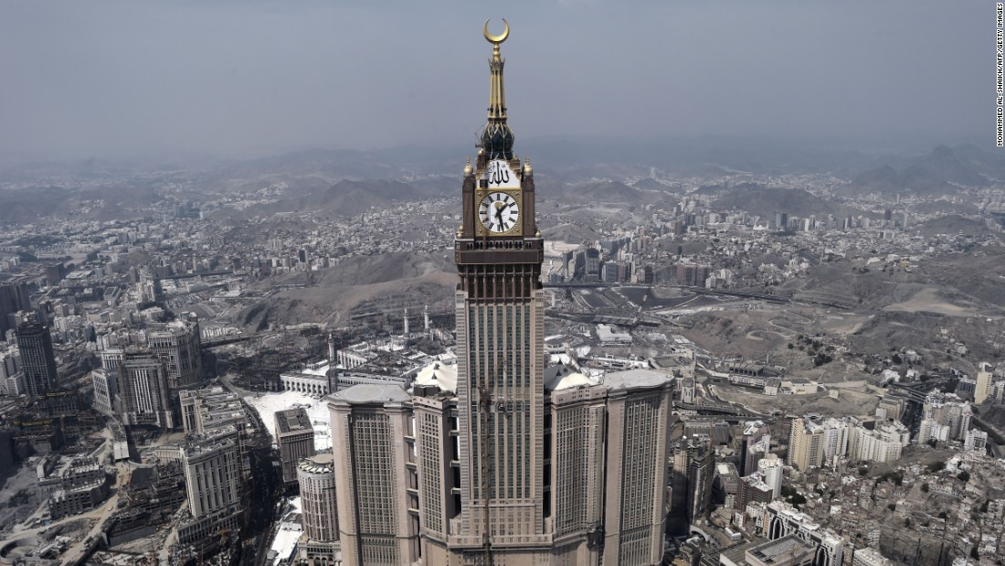 <strong>21. Mecca, Saudi Arabia: </strong>Islamic pilgrimage center Mecca pulled in 7.18 million international visitor arrivals, an increase of 17.2% over the previous year.