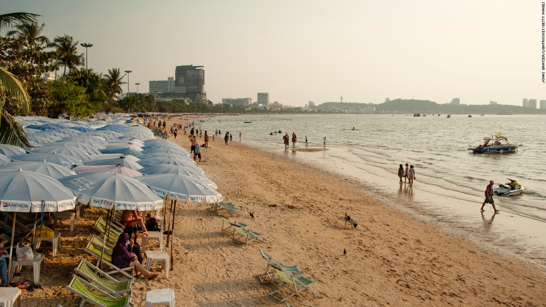 The Thai beach resort town of Pattaya holds steady at number 19 on the chart, despite an 8% drop in visitor numbers to 6.43 million.