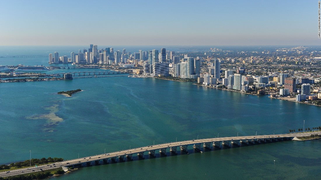 <strong>19. Miami:</strong> Miami's beaches, art scene and Spanish-infused culture -- in addition to the attraction of its next door neighbor, Miami Beach -- helped lure 7.6 million international tourists.