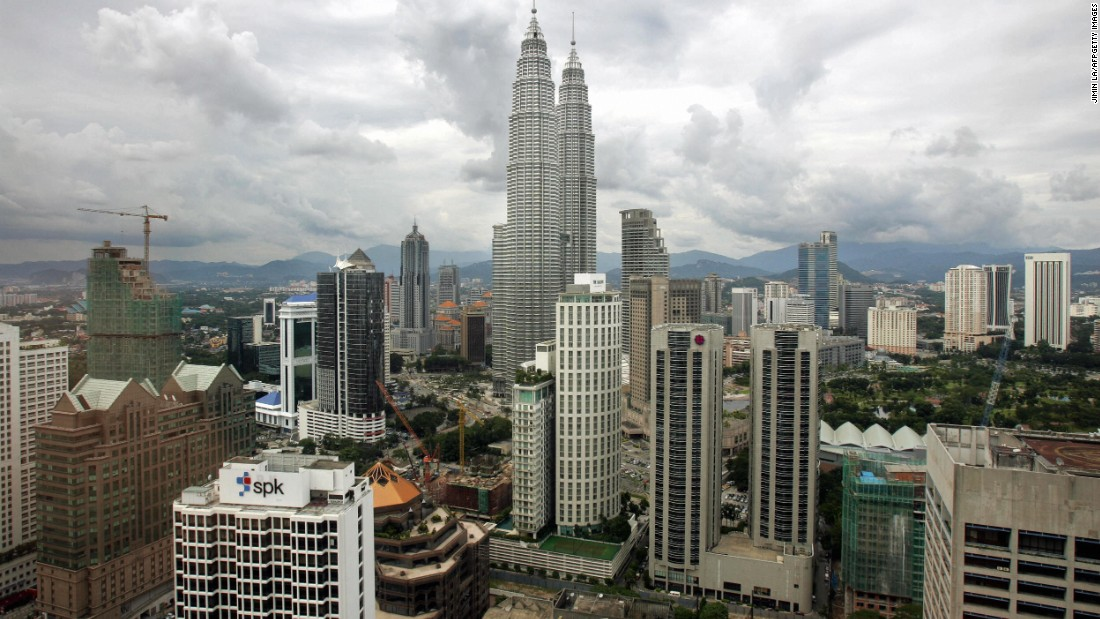 Ninth-ranked Kuala Lumpur saw 11.2 million visitors.