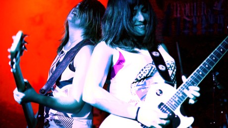 Australian rockers Tequila Mockingbyrd who are appearing at Queens of Noize in Sydney.