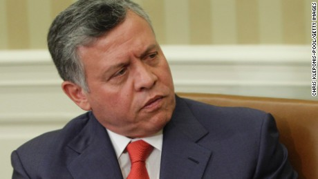Jordan's King Abdullah in a 'very tricky position'