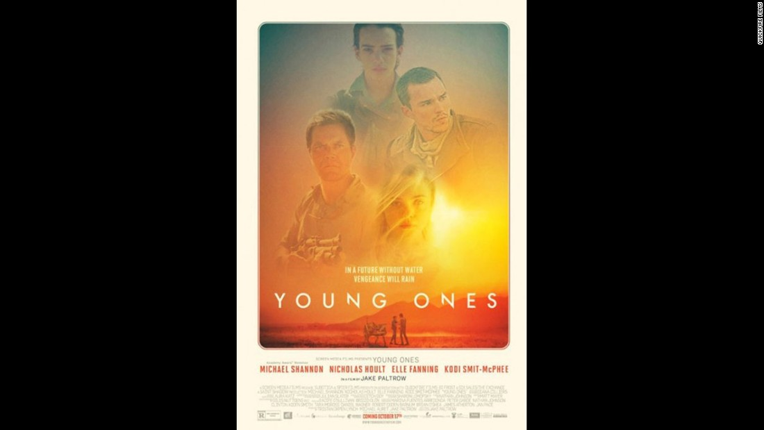 "<strong>""Young Ones"" (2014)</strong>:<strong> </strong>Set in a time when water is hard to come by, a teenage boy sets out to protect his family and survive. <strong>(Netflix)</strong>"