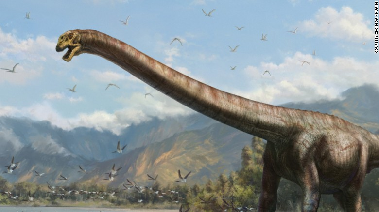 'Dragon Dinosaur' discovered in China