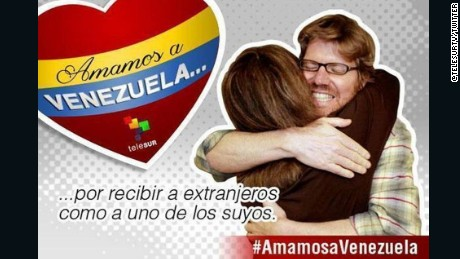 Ad campaign in Venezuela featured image of journalist Jim Wyss, who was detained for 48 hours in 2013.