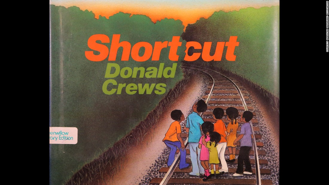"Author Donald Crews, whose books include ""Shortcut,"" won the Laura Ingalls Wilder Award for his substantial and lasting contribution to literature for children."