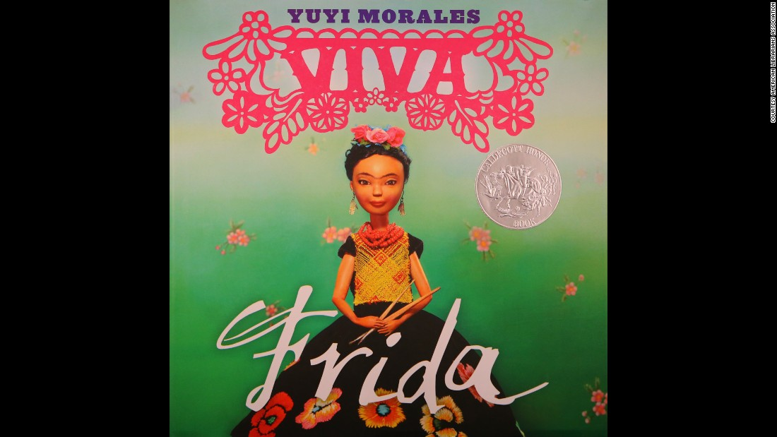 """Viva Frida,"" written and illustrated by Yuyi Morales, is the Pura Belpré Illustrator Award winner."