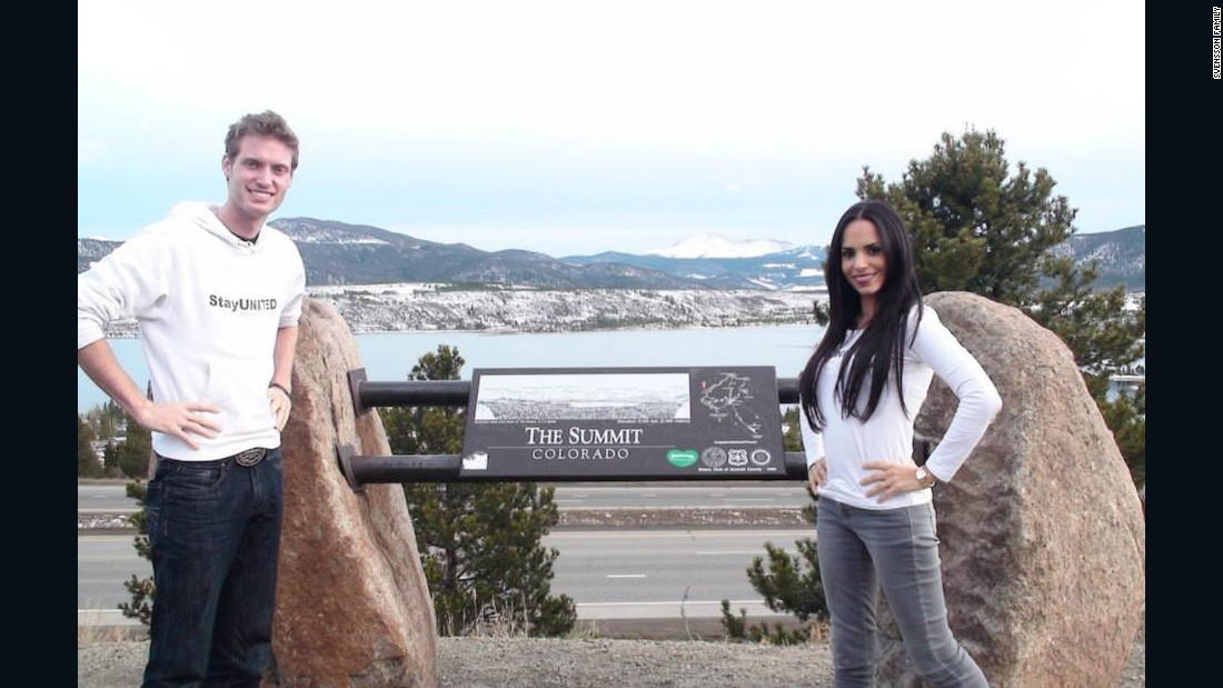 In Colorado, Mark and Ismini made an impact on the environment by donating to the Sierra Club Rocky Mountain Chapter.