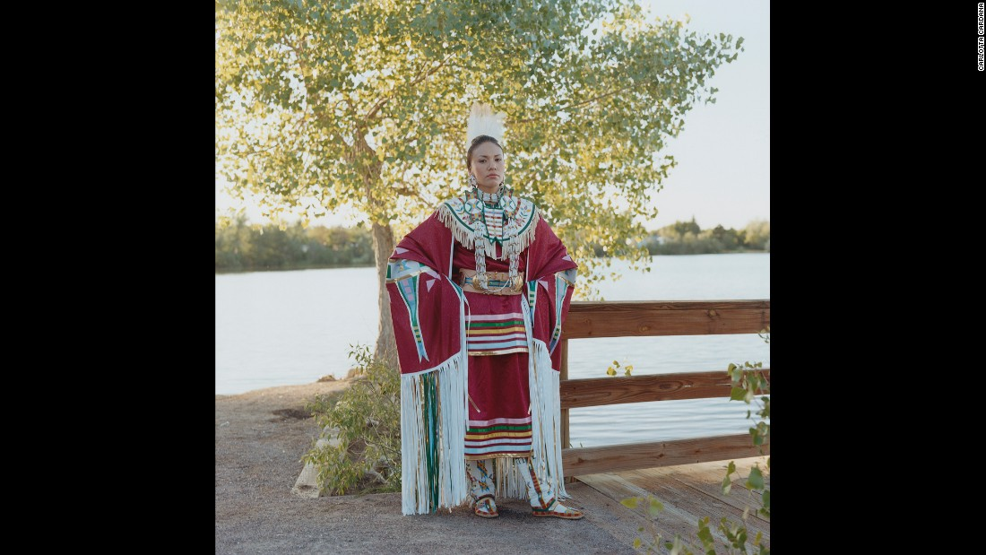 Tanksi Morning Star Clairmont, 33, grew up off-reservation in Denver. But she credits her grandmother and mother for keeping her grounded and teaching her the Lakota language, ceremonies and traditional ways.