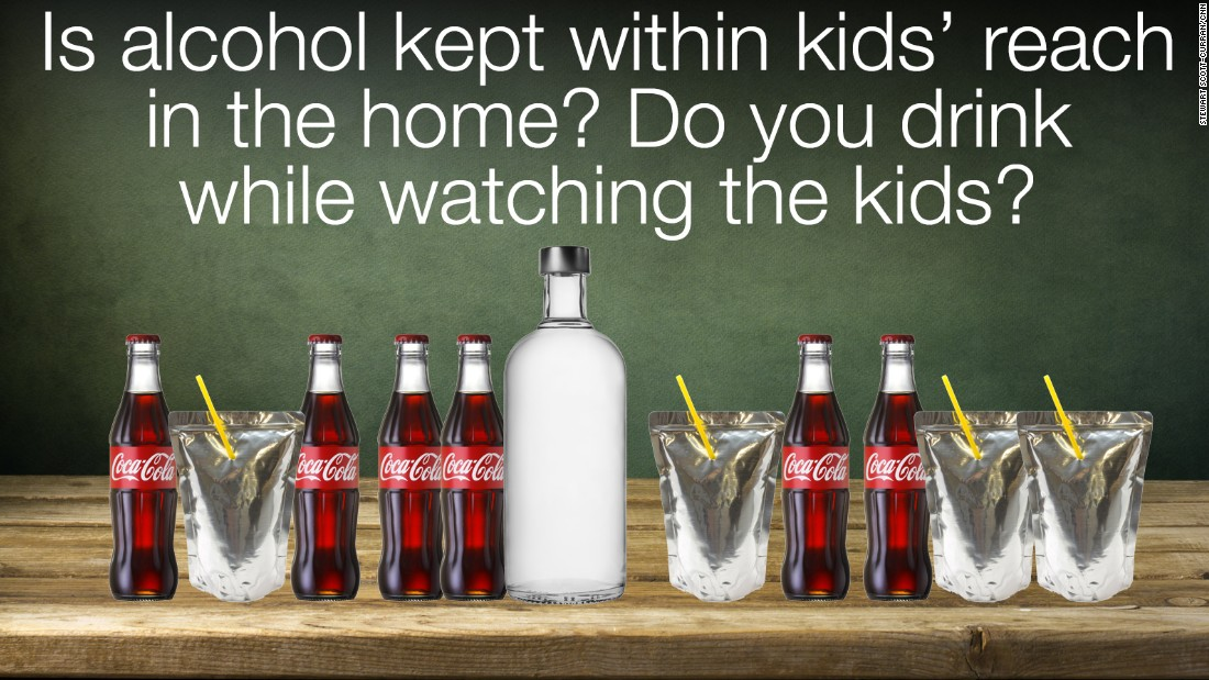 We know you're of legal age to drink, but the children in your home are not (yet), and they may be old enough to eye the bar in your house when you're not there.