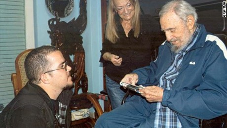 Cuban state media posts new Fidel Castro photos