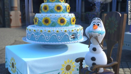 Scenes from Disney's Frozen Fever