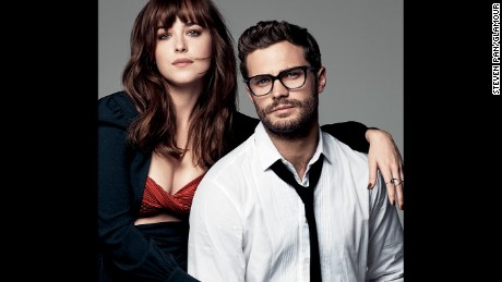 Johnson and Dornan said nude scenes were tricky