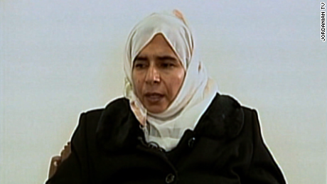 Who was Jordanian terrorist Sajida al-Rishawi?