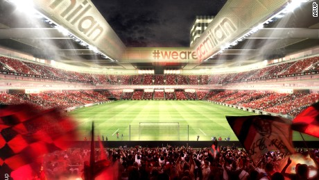 AC Milan unveils new stadium plans