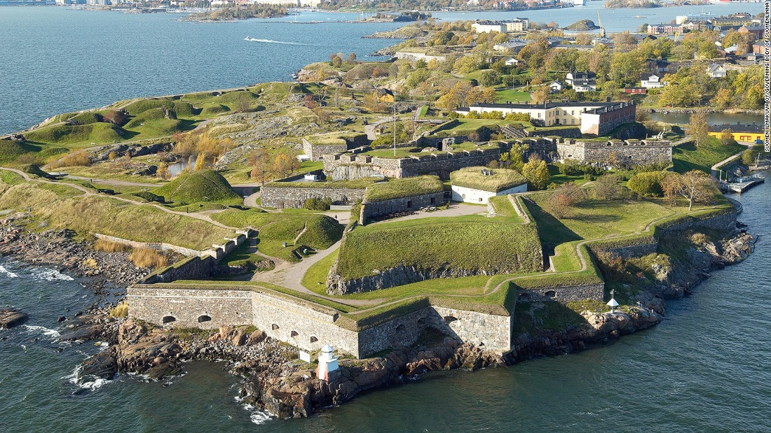 Arndt's latest World Heritage Site visit, this fortress is a prime example of fortification architecture in the second half of the 18th century. Built on and linking a group of islands close to Helsinki, the fortress was meant to control entry into the city's harbor.