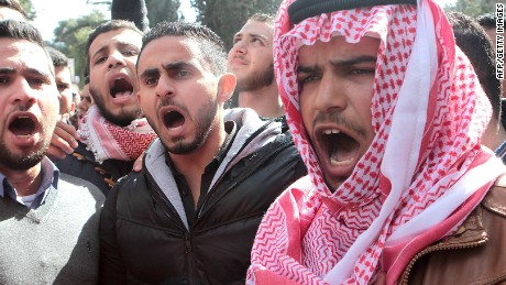 Outraged Jordan vows 'relentless war' on ISIS